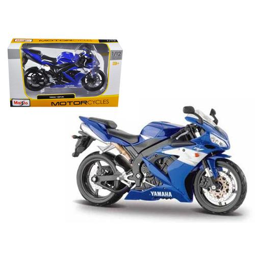 2004 Yamaha YZF-R1 Blue Bike 1/12 Motorcycle by Maisto