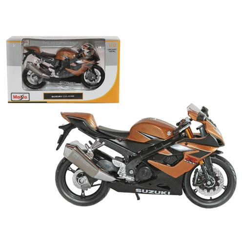 Suzuki GSX R1000 Bronze Motorcycle 1/12 Diecast Model by Maisto