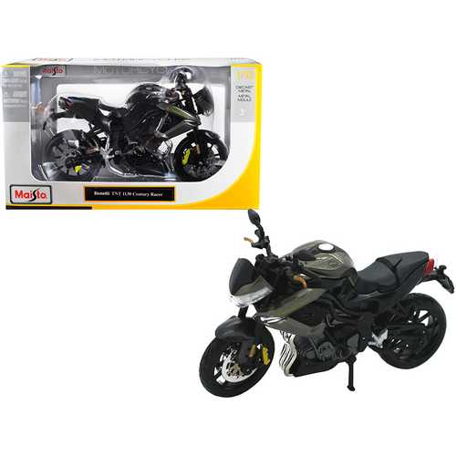 Benelli TNT 1130 Century Racer Gray 1/12 Diecast Motorcycle Model by Maisto