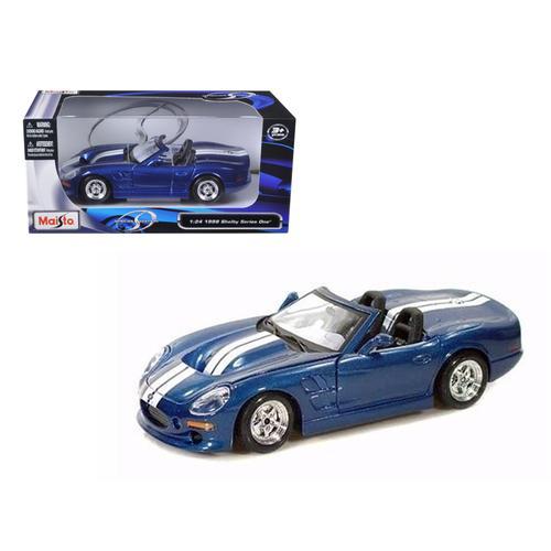 1999 Shelby Series 1 Blue 1/24 Diecast Model Car by Maisto