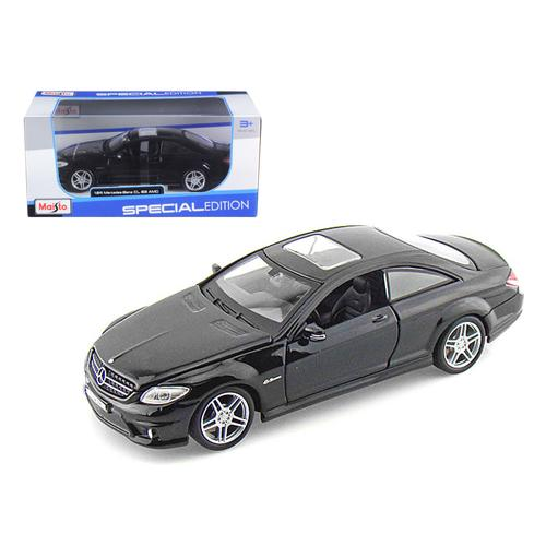 Mercedes Benz CL63 AMG Black 1/24 Diecast Model Car by Maisto
