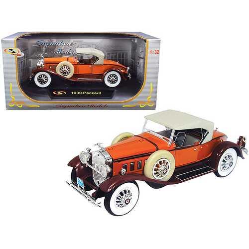 1930 Packard Boattail Speedster Brown 1/32 Diecast Model Car by Signature Models