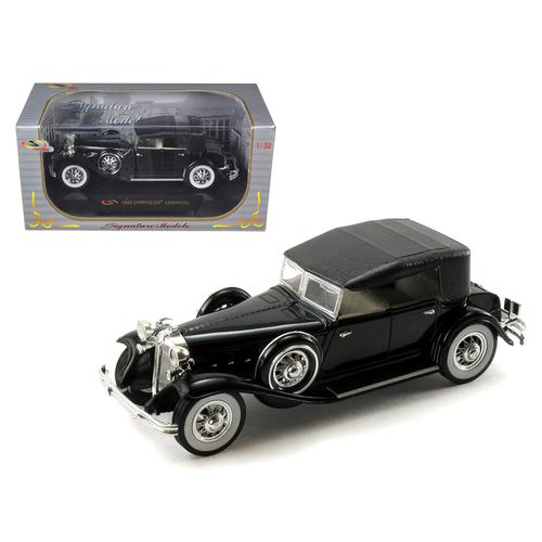 1932 Chrysler Lebaron Black 1/32 Diecast Car Model by Signature Models