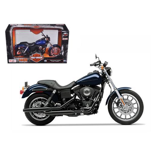 2004 Harley Davidson Dyna Super Glide Sport Bike Motorcycle 1/12 Model by Maisto