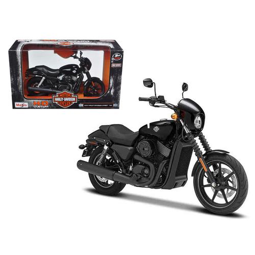 2015 Harley Davidson Street 750 Motorcycle Model 1/12 by Maisto