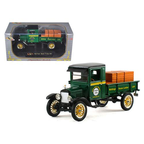 1923 Ford Model TT Lamber Truck Green 1/32 Diecast Model Car by Signature Models