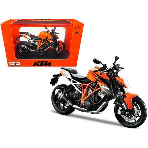 KTM 1290 Super Duke R Orange 1/12 Diecast Motorcycle Model by Maisto