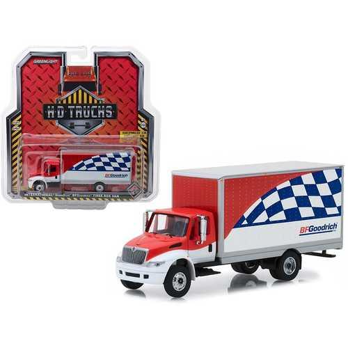 """International Durastar """"BFGoodrich Tires"""" Box Van HD Trucks Series 13 1/64 Diecast Model by Greenlight"""