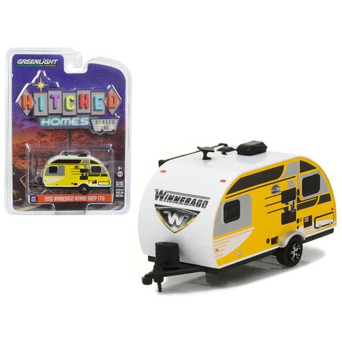 2016 Winnebago Winnie Drop 1710 Trailer 1/64 Diecast Model Car by Greenlight
