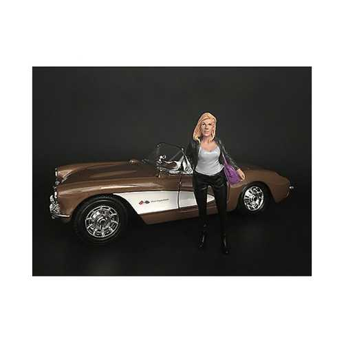 """""""Ladies Night"""" Angela Figurine for 1/18 Scale Models by American Diorama"""