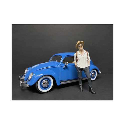 """""""Partygoers"""" Figurine III for 1/18 Scale Models by American Diorama"""