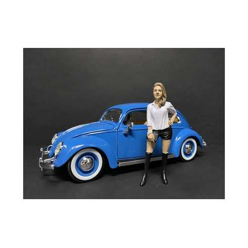 """""""Partygoers"""" Figurine VII for 1/18 Scale Models by American Diorama"""
