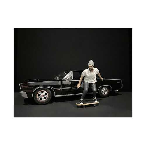 Skateboarder Figurine II for 1/18 Scale Models by American Diorama