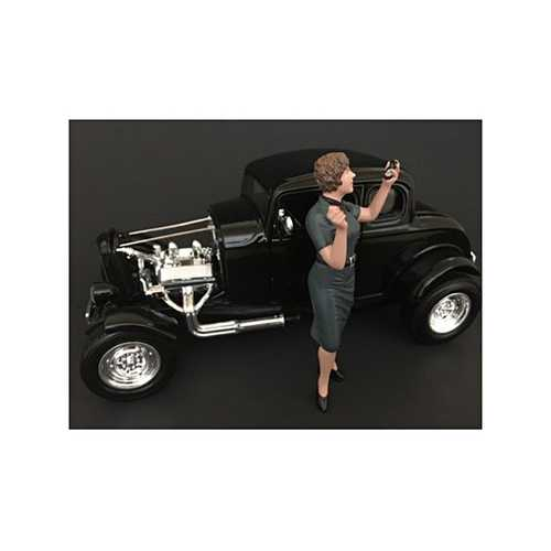 50's Style Figure IV  for 1:24 Scale Models by American Diorama