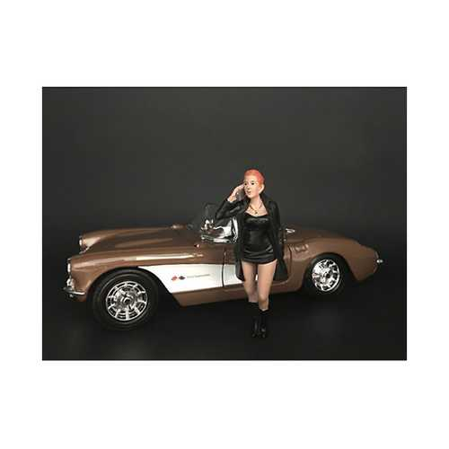 """""""Ladies Night"""" Gianna Figurine for 1/24 Scale Models by American Diorama"""