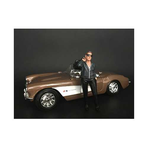 """""""Ladies Night"""" Tom (Bartender) Figurine for 1/24 Scale Models by American Diorama"""