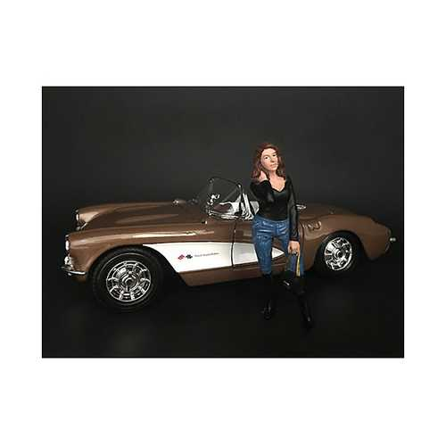 """""""Ladies Night"""" Lindsay Figurine for 1/24 Scale Models by American Diorama"""