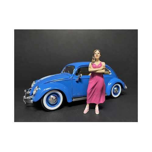 """""""Partygoers"""" Figurine II for 1/24 Scale Models by American Diorama"""