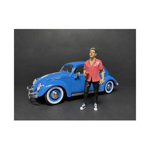 """""""Partygoers"""" Figurine VI for 1/24 Scale Models by American Diorama"""