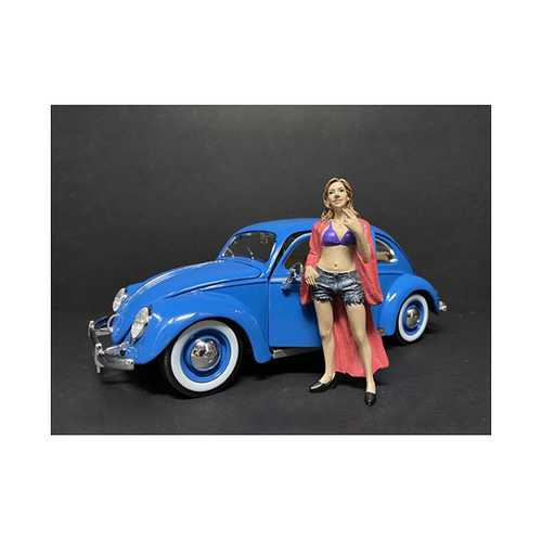 """""""Partygoers"""" Figurine VIII for 1/24 Scale Models by American Diorama"""