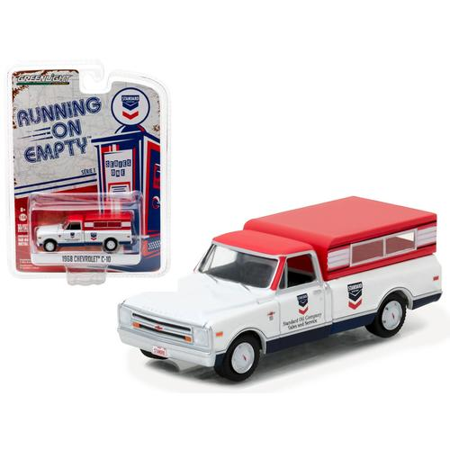 1968 Chevrolet C-10 Standard Oil Pickup Truck 1/64 Diecast Model Car by Greenlight