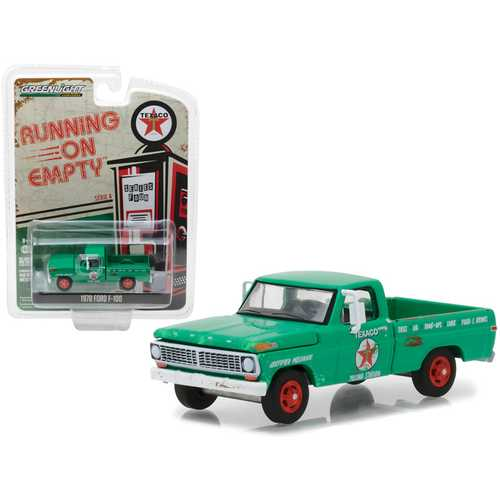 "1970 Ford F-100 ""Texaco"" Filing Station ""Running on Empty"" Series 4 1/64 Diecast Model Car by Greenlight"