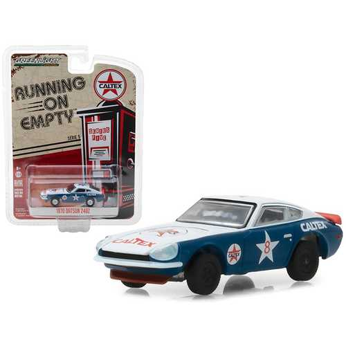 "1970 Datsun 240Z ""Caltex"" #8 Running on Empty Series 5 1/64 Diecast Model Car by Greenlight"