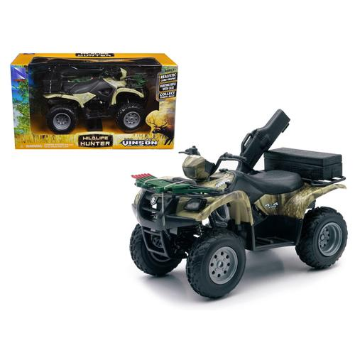 Suzuki Vinson 500 4X4 Quad Runner Green ATV 1/12 Diecast Motorcycle Model by New Ray