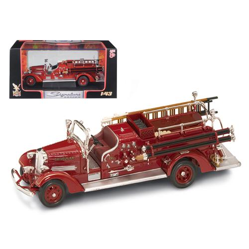 1938 Ahrens Fox VC Fire Engine Red 1/43 Diecast Model by Road Signature