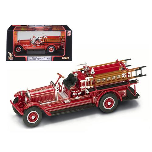 1924 Stutz Model C Fire Engine Red 1/43 Diecast Model by Road Signature
