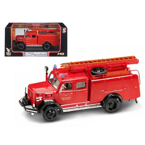 1964 Magirus Deutz 150 D 10 F TLF-16 Fire Engine 1/43 Diecast Car by Road Signature