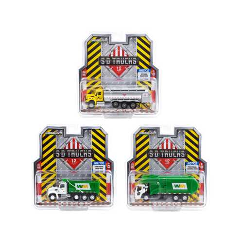 """S.D. Trucks"" 3 piece Set Series 12 1/64 Diecast Models by Greenlight"