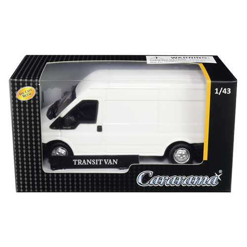 Transit Van White 1/43 Diecast Model Car by Cararama