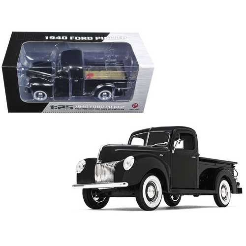 1940 Ford Pickup Truck Black 1/25 Diecast Model Car by First Gear