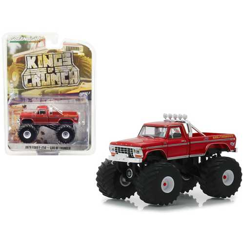 "1979 Ford F-250 Monster Truck ""God of Thunder"" ""Kings of Crunch"" Series 3 1/64 Diecast Model Car by Greenlight"