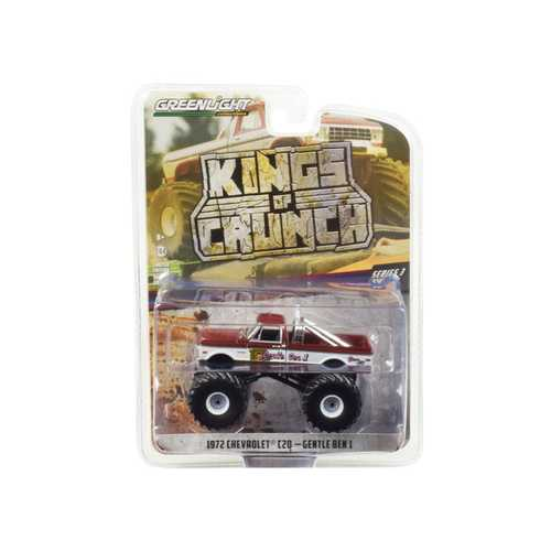 "1972 Chevrolet C20 Monster Truck ""Gentle Ben 1"" ""Kings of Crunch"" Series 3 1/64 Diecast Model Car by Greenlight"