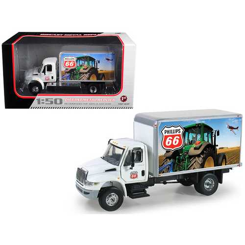 International DuraStar Phillips 66 Delivery Truck 1/50 Diecast Model by First Gear