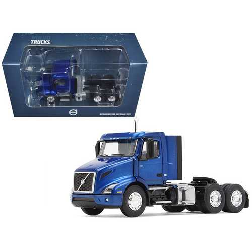 Volvo VNR 300 Day Cab Space Blue Metallic 1/50 Diecast Model Car by First Gear
