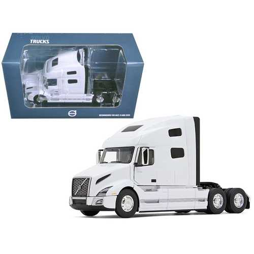 Volvo VNL 760 Sleeper Cab White 1/50 Diecast Model Car by First Gear