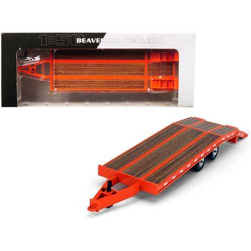 Beavertail Trailer Orange 1/50 Diecast Model by First Gear