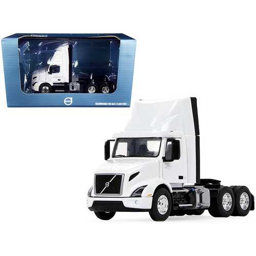 Volvo VNR 300 Day Cab with Roof Fairing Truck Tractor White 1/50 Diecast Model by First Gear
