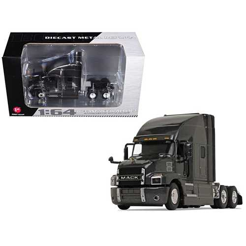Mack Anthem Sleeper Cab Graphite Gray 1/64 Diecast Model by First Gear