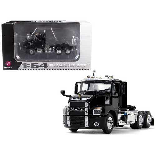 Mack Anthem Day Cab Black 1/64 Diecast Model by First Gear