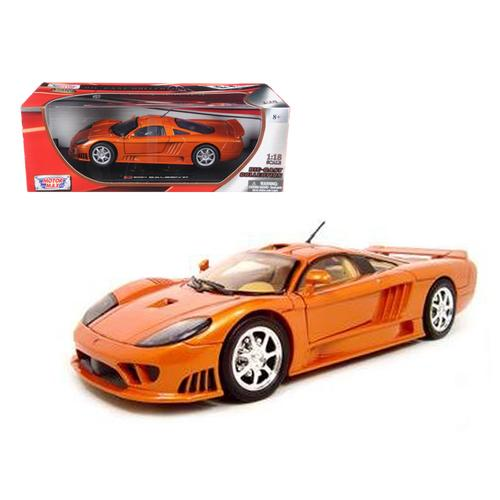 Saleen S7 Copper 1/18 Diecast Model Car by Motormax