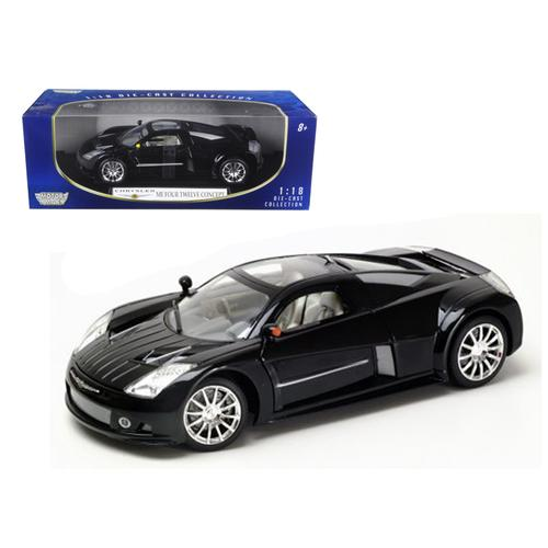 Chrysler Me Four Twelve Black 1/18 Diecast Model Car by Motormax