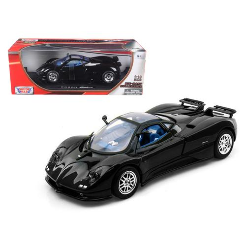 Pagani Zonda C12 Black 1/18 Diecast Model Car by Motormax