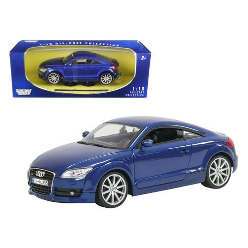 2007 Audi TT Blue 1/18 Diecast Car Model by Motormax