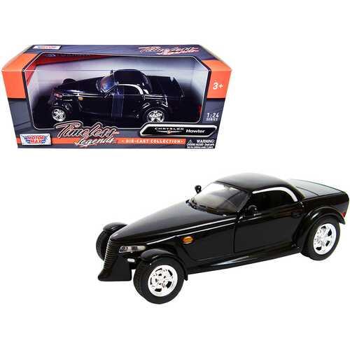 "Chrysler Howler Concept Black ""Timeless Legends"" 1/24 Diecast Model Car by Motormax"