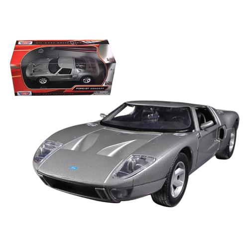 Ford GT Silver 1/24 Diecast Car Model by Motormax