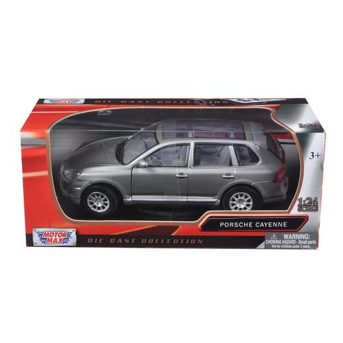2008 Porsche Cayenne Gray Metallic 1/24 Diecast Model Car by Motormax